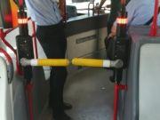 Turnstiles on Rome buses