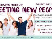 24 July - Rome Expats & Diplomats: Meeting New People Aperitivo