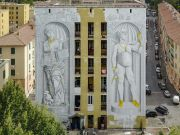 Street artist Blu strikes again in Rome