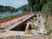 Mystery surrounds ancient discovery in north Rome