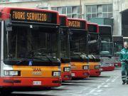 Rome public transport strike on 6 July