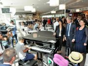 Rome mayor inaugurates Terrazza Termini