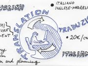 Translation ITA<->ENG (engineering architecture specialization)
