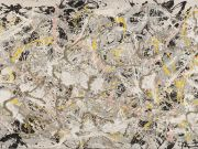 Jackson Pollock exhibition in Rome