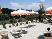 Rome opens beach along river Tiber