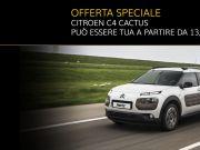 OFFERTA SPECIALE! La tua Citroën C4 Cactus a partire da 13.700 €