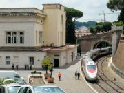 Vatican train to Barberini Garden at Castel Gandolfo