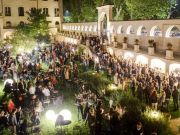Rome Art Week party at Borgo Ripa