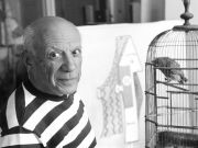 Picasso sculpture at Galleria Borghese in Rome