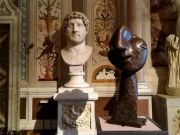 Picasso sculpture at Galleria Borghese in Rome
