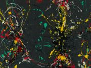 Rome celebrates Jackson Pollock with exhibition
