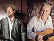 Tommy Emmanuel performs with Jerry Douglas in Rome concert