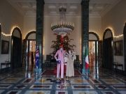 Vivienne Westwood at British Embassy in Rome