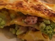 Rome recipe: Sausage and Broccoli Lasagne