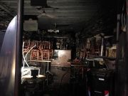 Rome wine bar gutted by fire