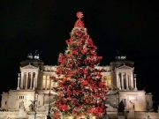 Rome's Netflix Christmas tree deemed a success