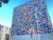 Mosa One mural in Rome's Tor Bella Monaca