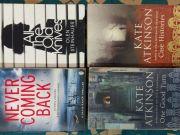 Lot of 4 English crime paperback books