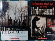 2 Scholastic School books - Holocaust