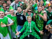 Irish rugby fans in Rome for Six Nations