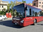 Rome bus driver suspended for parking bus outside house