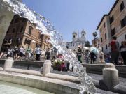 Hottest February on record in Rome