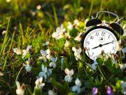 Clocks spring forward on 31 March