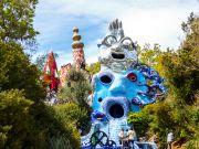 Tarot sculpture garden in Tuscany