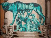 Rome removes Suburra mural in Pigneto