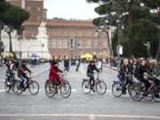 Traffic-free Sunday in Rome on 24 March