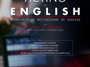 'Acting In English' workshop 7th April - 23rd June 2019