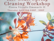 Life Goals Spring Cleaning Workshop