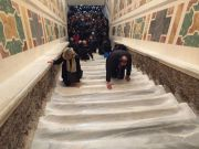 Rome's Holy Stairs unveiled for first time in 300 years