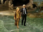 Fendi pays tribute to Lagerfeld with Rome catwalk