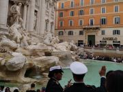 US tourist fined for jumping into Rome's Trevi Fountain