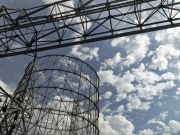 Gasometro: industrial landmark on Rome's skyline