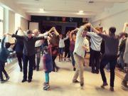 Irish céilí dancing in Rome