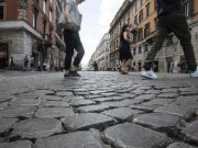 Cobblestones to be replaced on many Rome streets