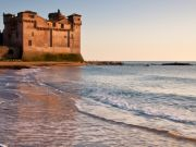 Animation festival at beachside castle near Rome