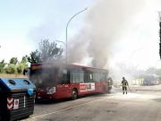 Two more Rome buses catch fire
