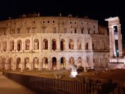 Rome lights up Theatre of Marcellus