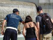 Tourist fined for bathing in historic Rome fountain