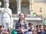Fridays for Future protests in Rome and across Italy