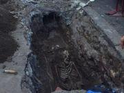Human skeleton discovered near Rome pyramid