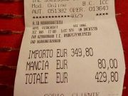 Japanese tourists charged €430 for two plates of spaghetti in Rome