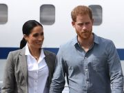 Prince Harry and Meghan Markle in Rome for Misha Nonoo wedding