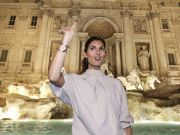 New lights for Rome's Trevi Fountain