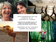 20th OCTOBER, SUNDAY YOGA WORKSHOP AND VEGETARIAN LUNCH
