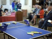 Rome mayor announces ping pong festival