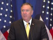 Mike Pompeo in Rome for talks